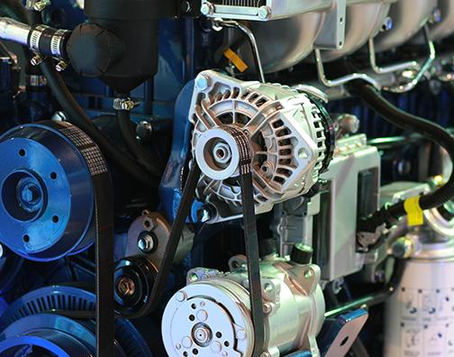 油压机叶片生产设备展示